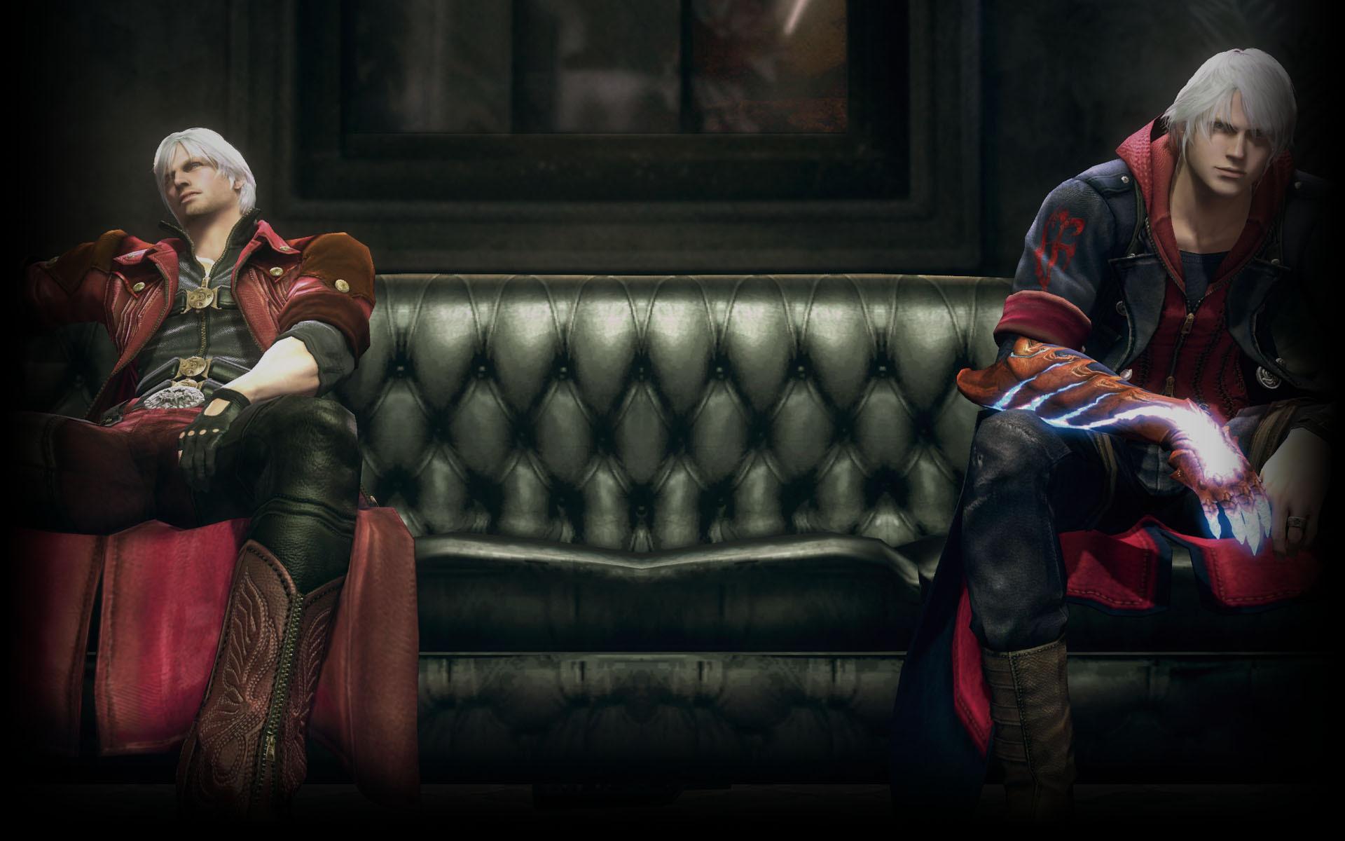 Devil May Cry 4 Wallpaper: Devil May Cry 4 HD Wallpaper