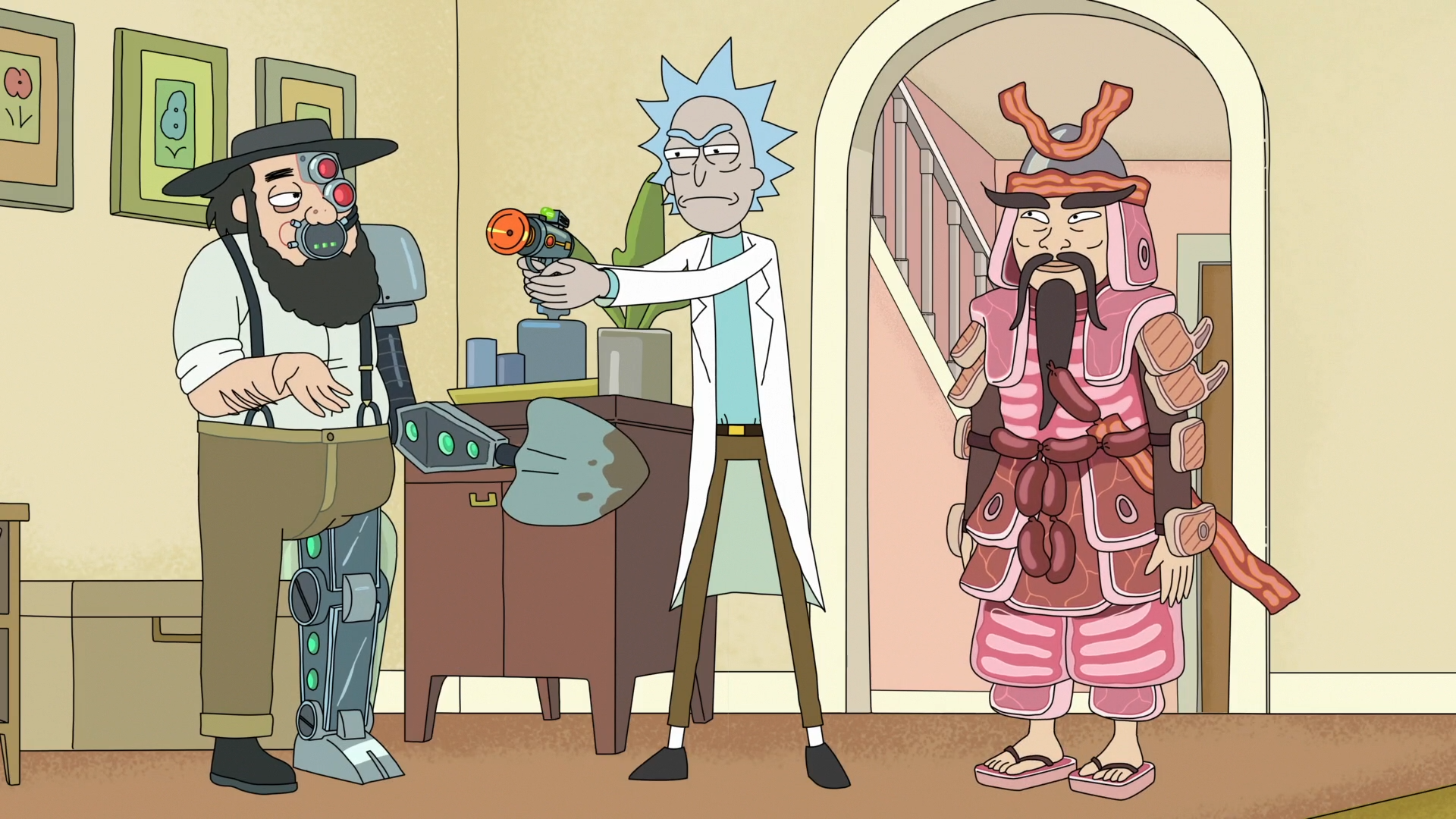 Rick And Morty Full HD Wallpaper And Background Image