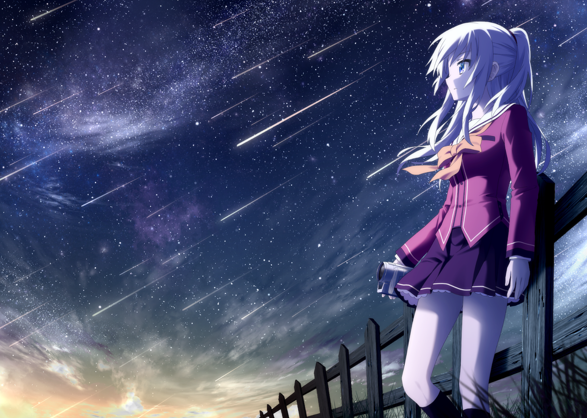 19 charlotte (anime) hd wallpapers | background images - wallpaper abyss