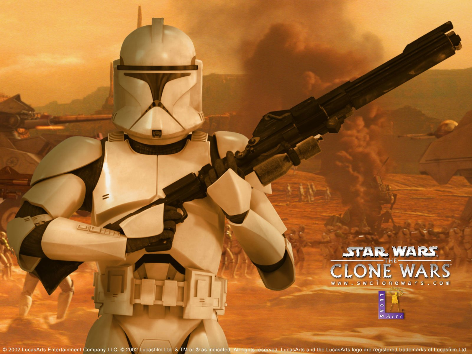 Movie - Star Wars: The Clone Wars  Clone Trooper Wallpaper