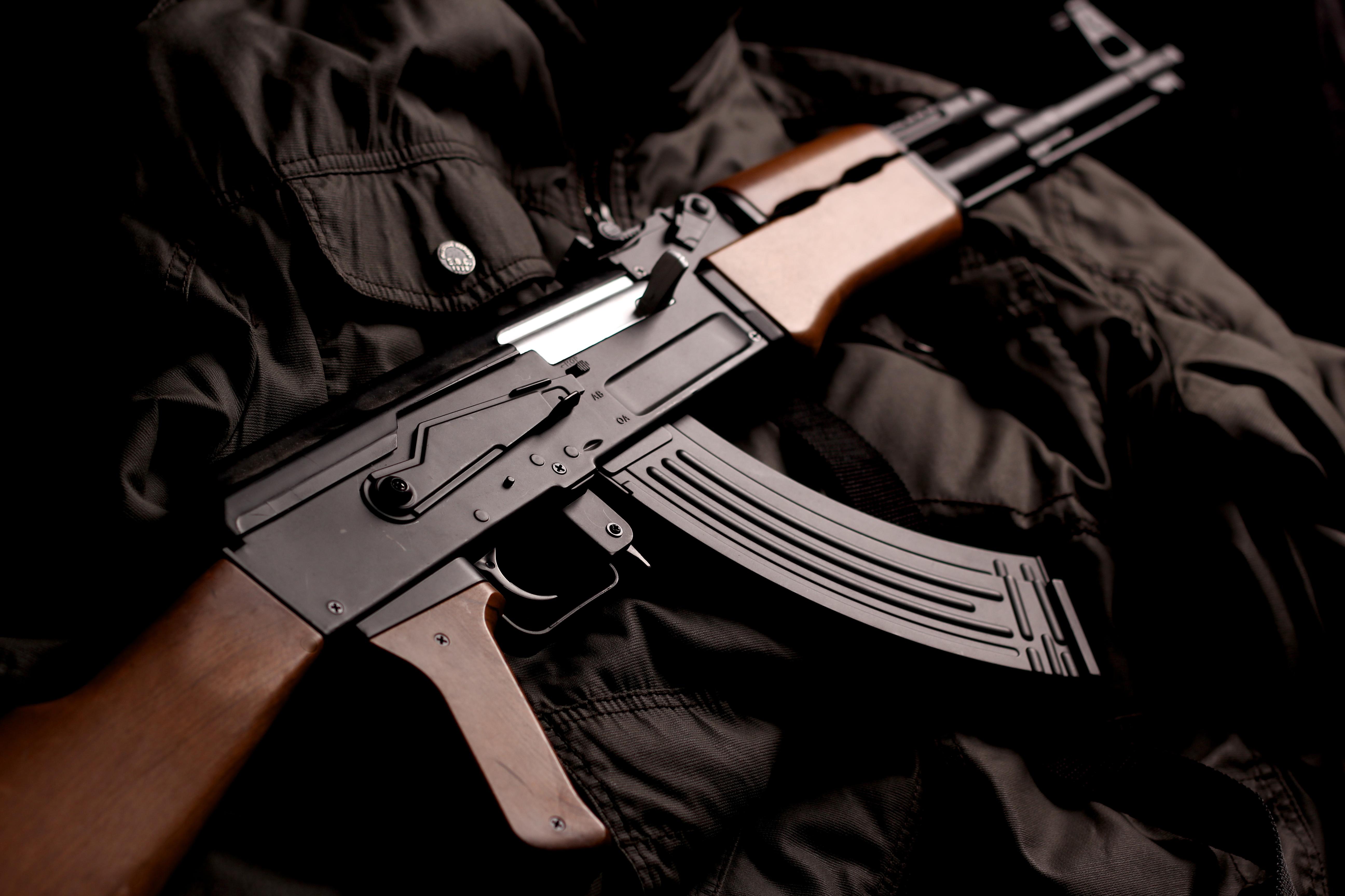 AK 47 5k Retina Ultra HD Wallpaper