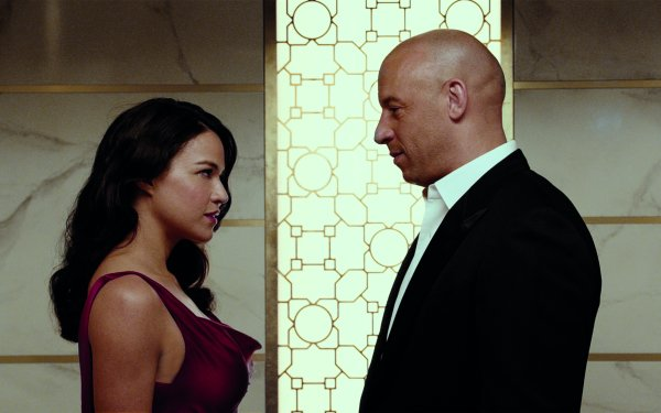 Movie Furious 7 Fast & Furious Vin Diesel Dominic Toretto Michelle Rodriguez Letty Ortiz HD Wallpaper | Background Image