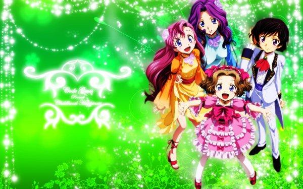 Anime Code Geass Lelouch Lamperouge Euphemia Li Britannia Cornelia Li Britannia Nunnally Lamperouge HD Wallpaper | Background Image