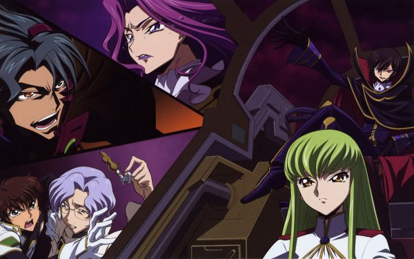 Anime Code Geass C.C. Lelouch Lamperouge Cornelia Li Britannia Suzaku Kururugi Lloyd Asplund Jeremiah Gottwald HD Wallpaper | Background Image