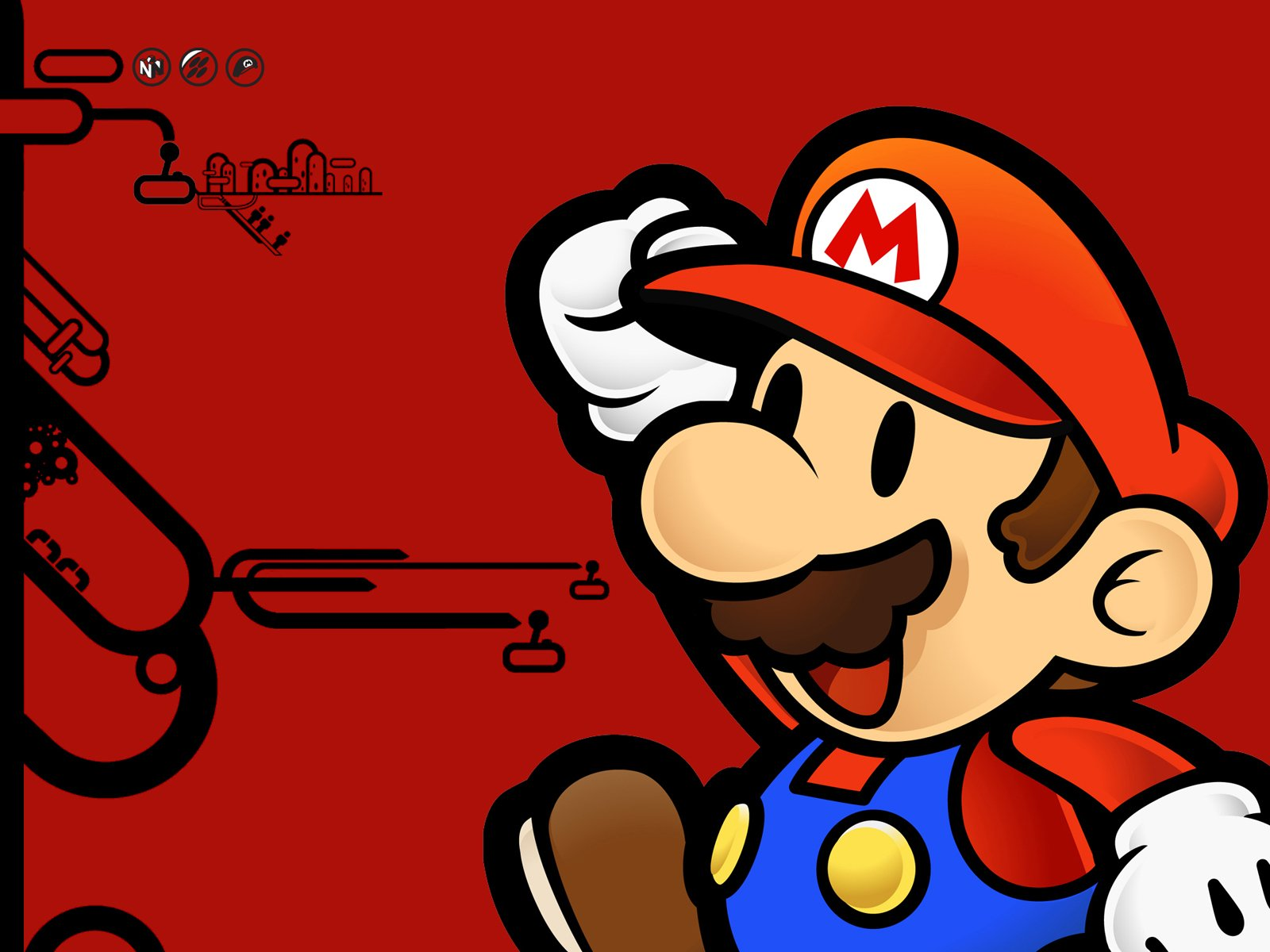 9 Paper Mario Hd Wallpapers Background Images Wallpaper Abyss