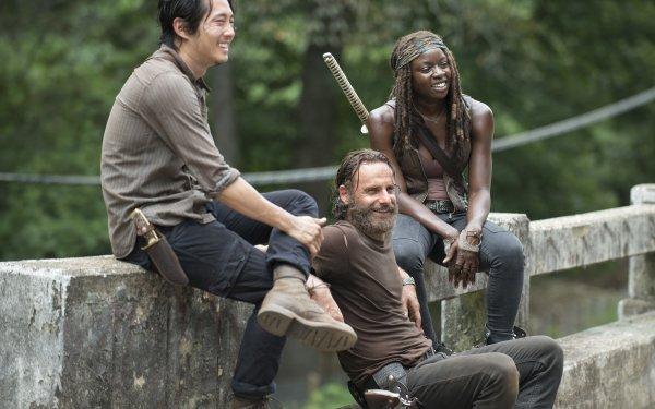 TV Show The Walking Dead Andrew Lincoln Rick Grimes Steven Yeun Glenn Rhee Danai Gurira Michonne HD Wallpaper | Background Image