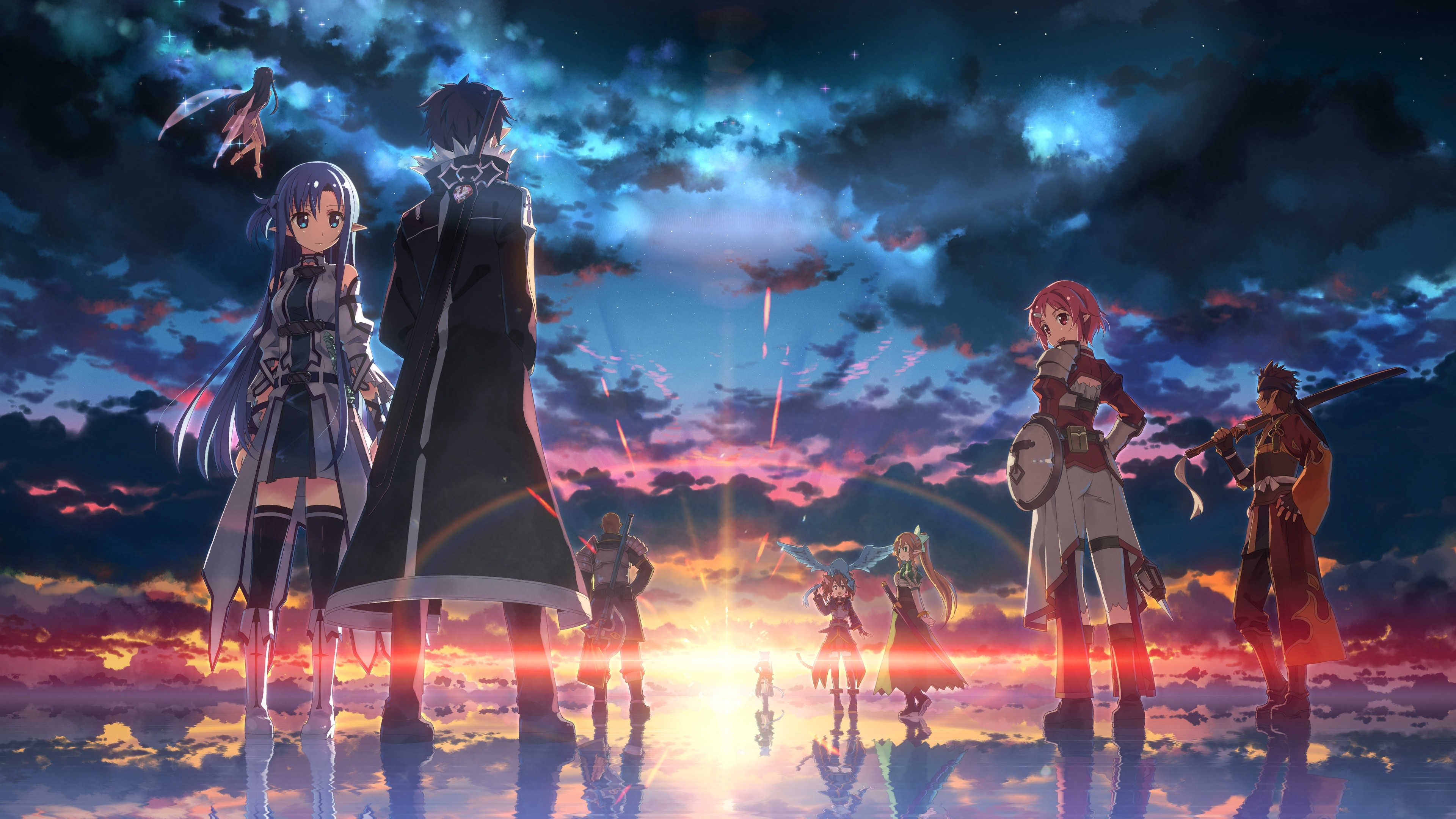 3651 sword art online hd wallpapers | background images - wallpaper