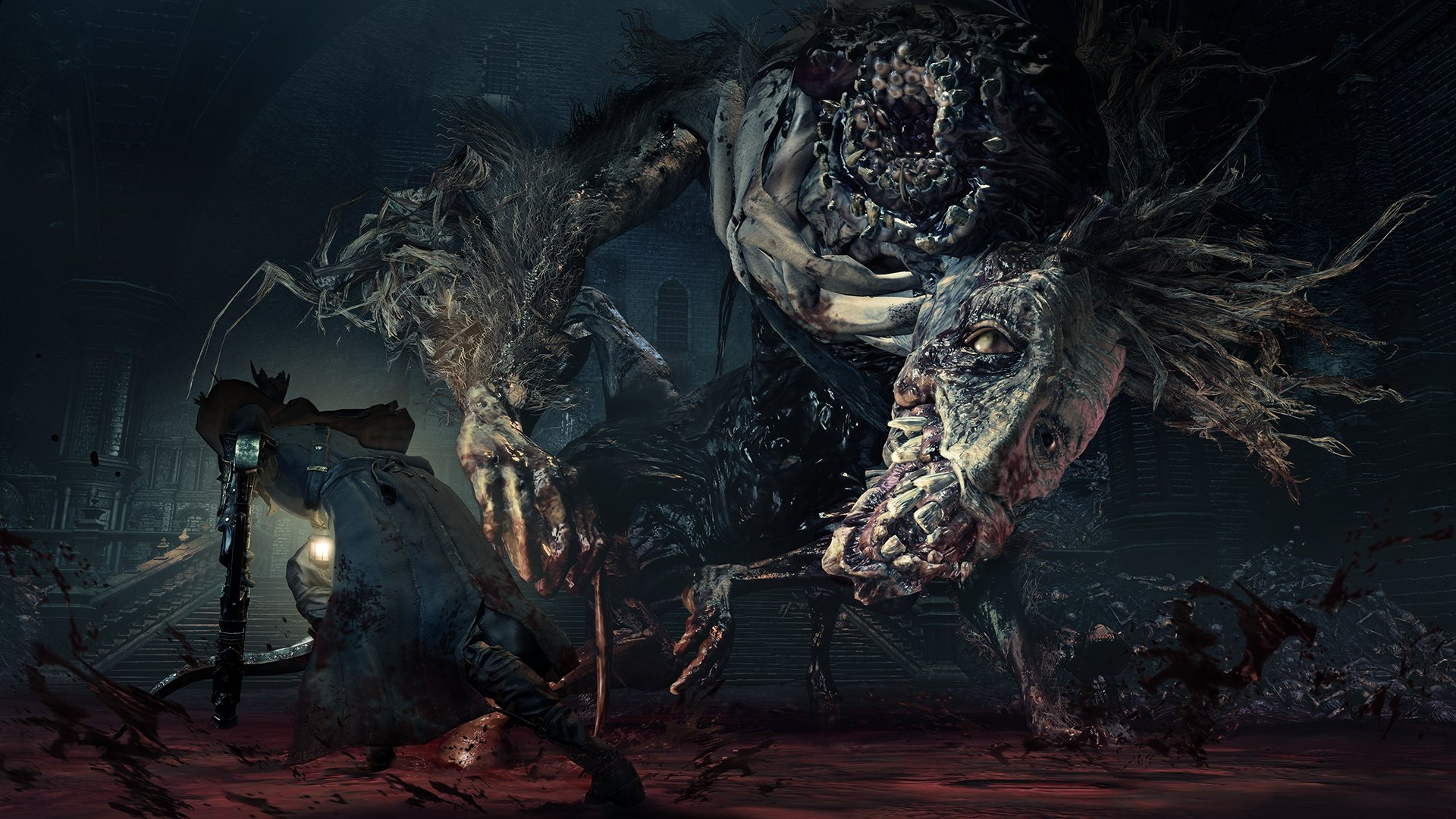 Ludwig is a boss in bloodborne 39 s the old hunters dlc full hd wallpaper and background image - Bloodborne download ...