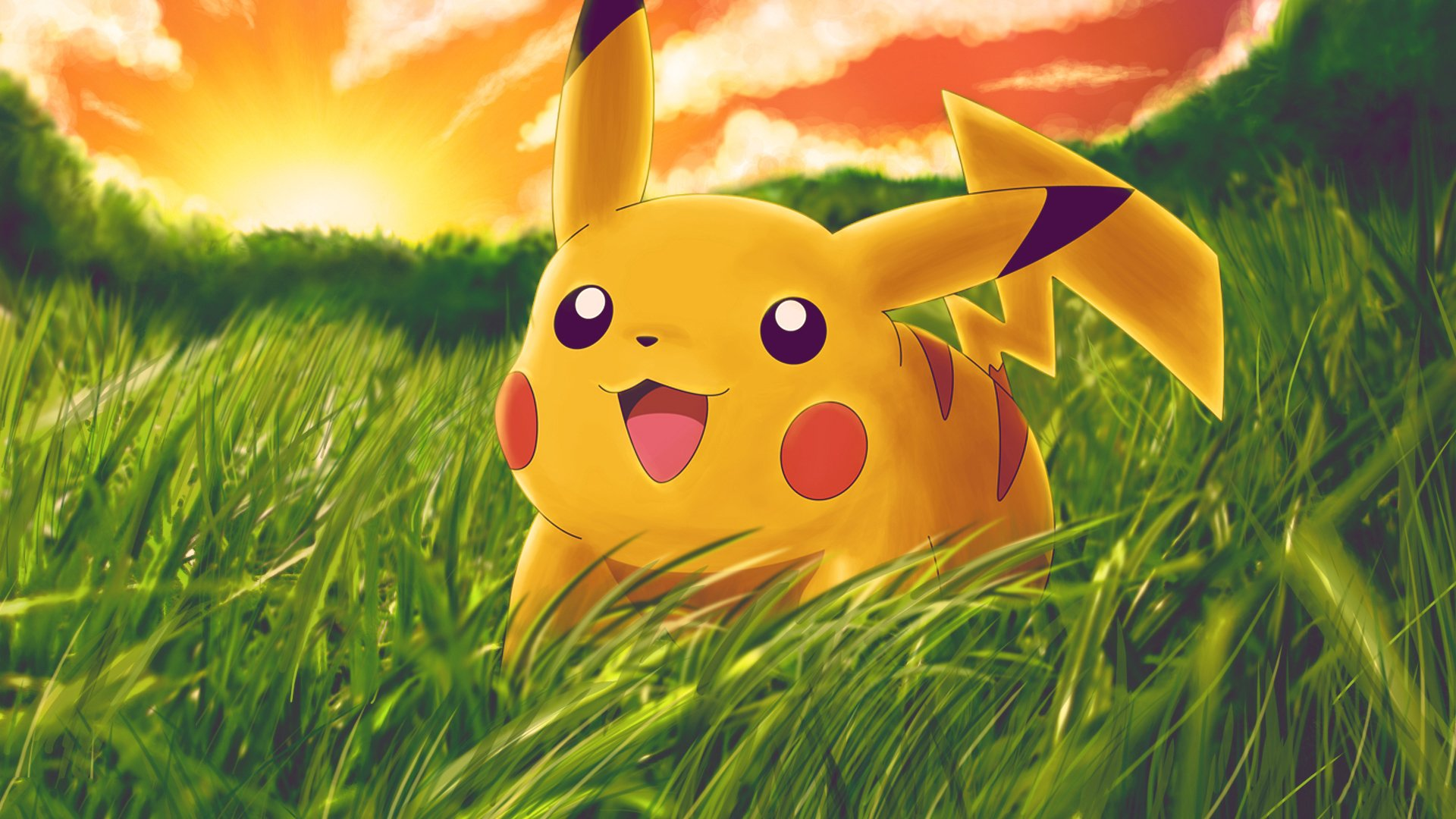 Anime - Pokémon  Anime Pikachu Video Game Wallpaper