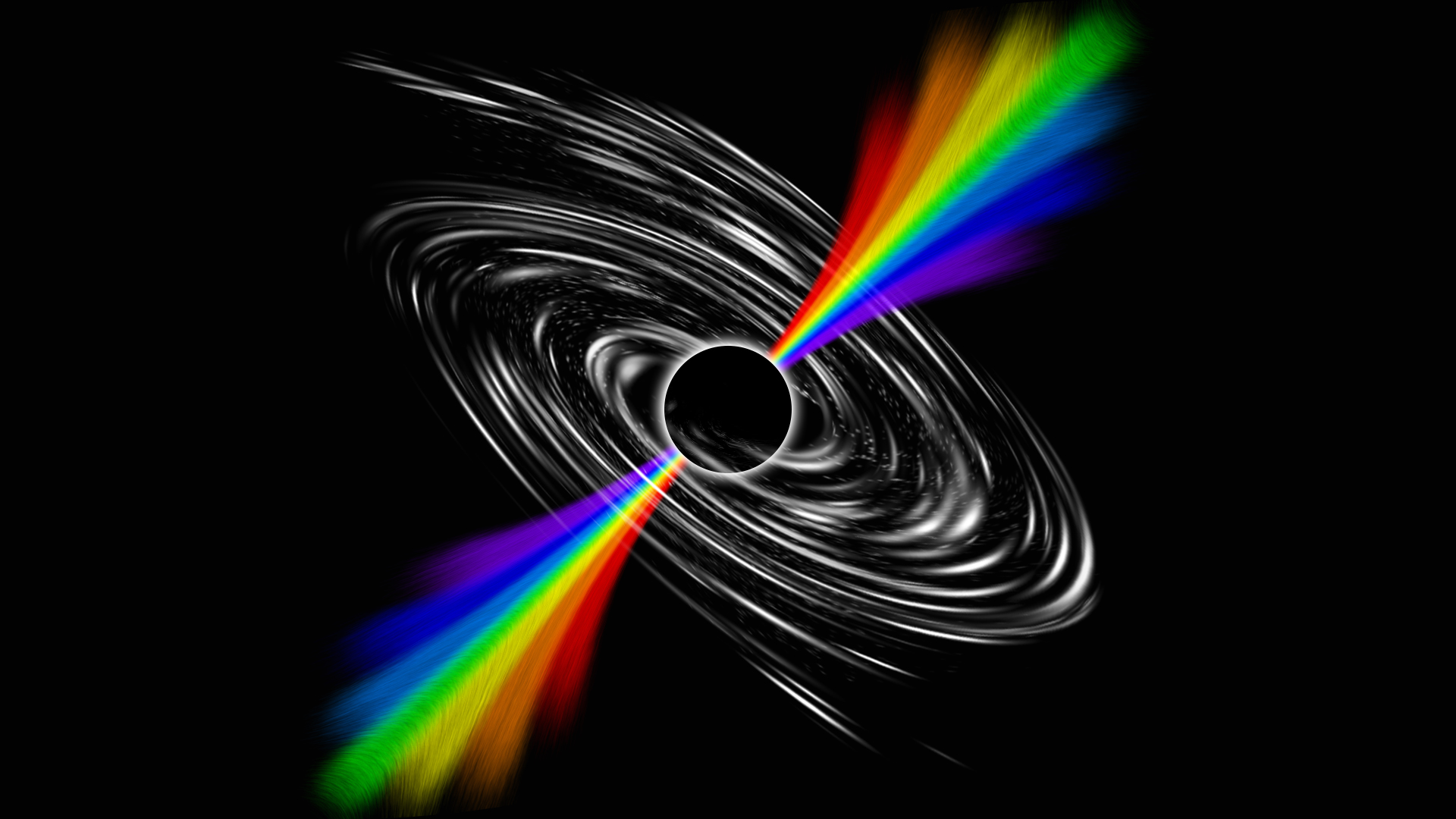 Black Hole Full HD Wallpaper and Background Image ...