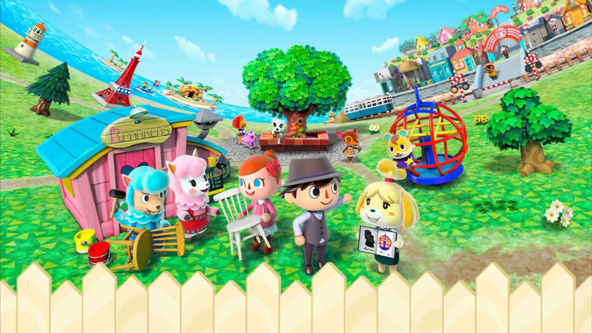 Image result for animal crossing new leaf official wallpaper