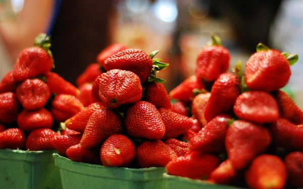 Food Strawberry Fruits HD Wallpaper | Background Image