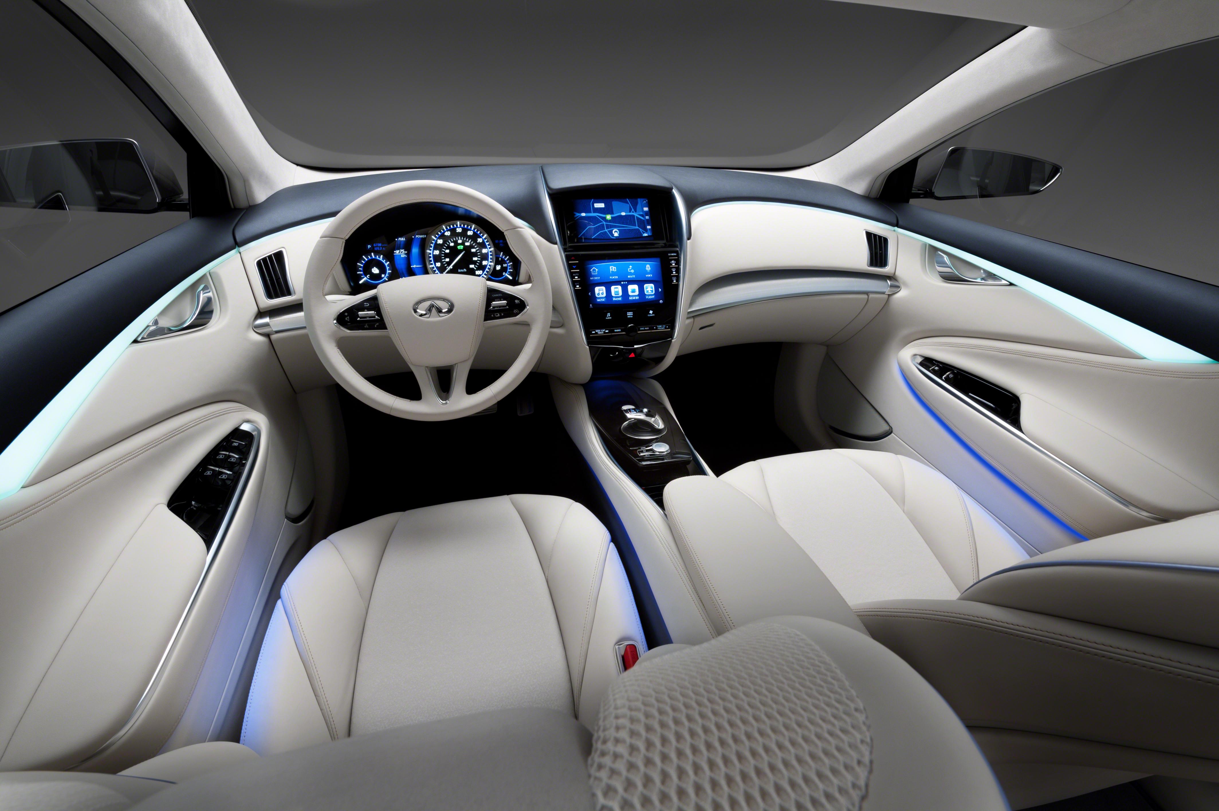 The Infiniti Le Electric Car Concept 4k Ultra Hd Wallpaper
