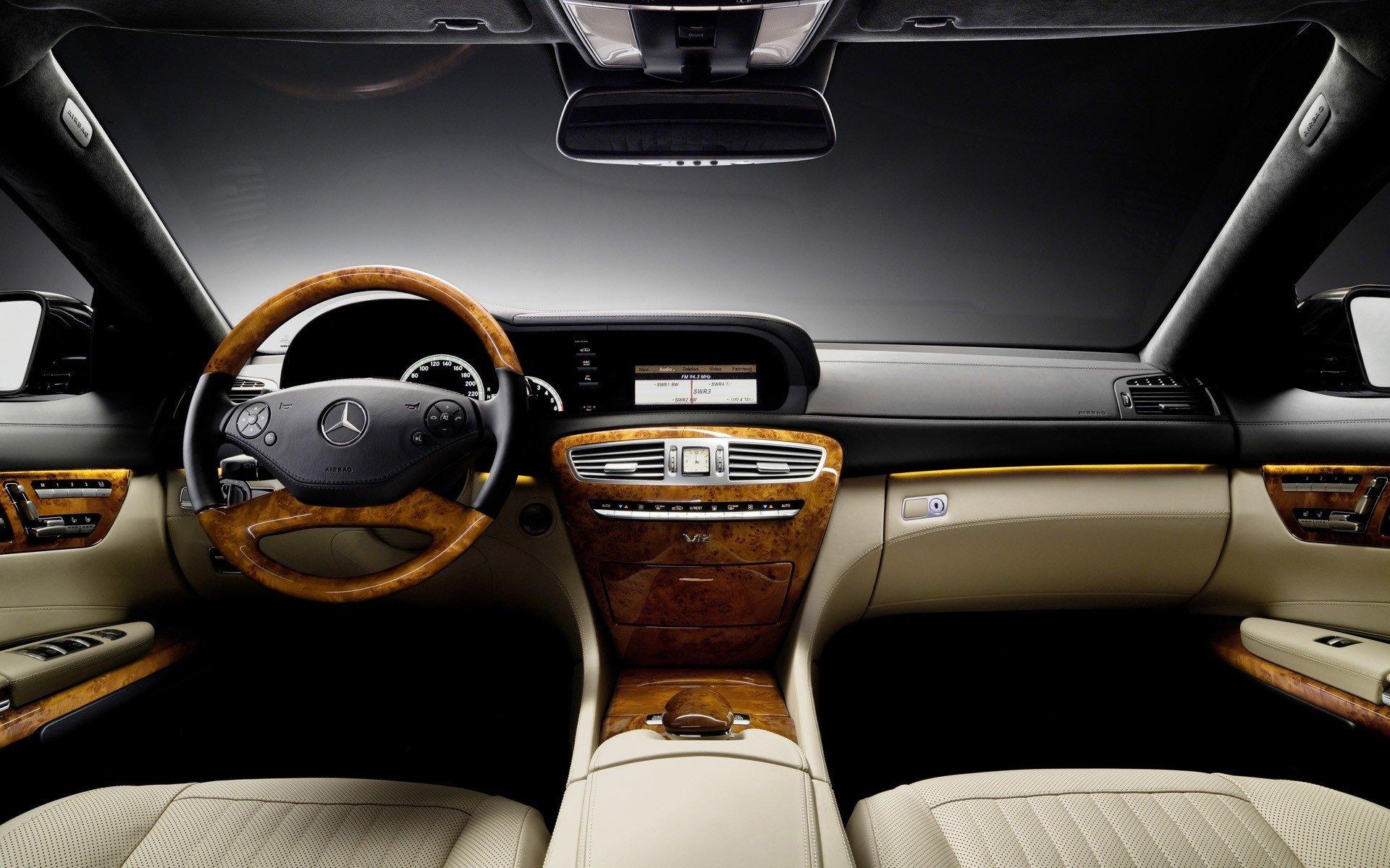 Mercedes-Benz CL Interior HD Wallpaper | Background Image ...