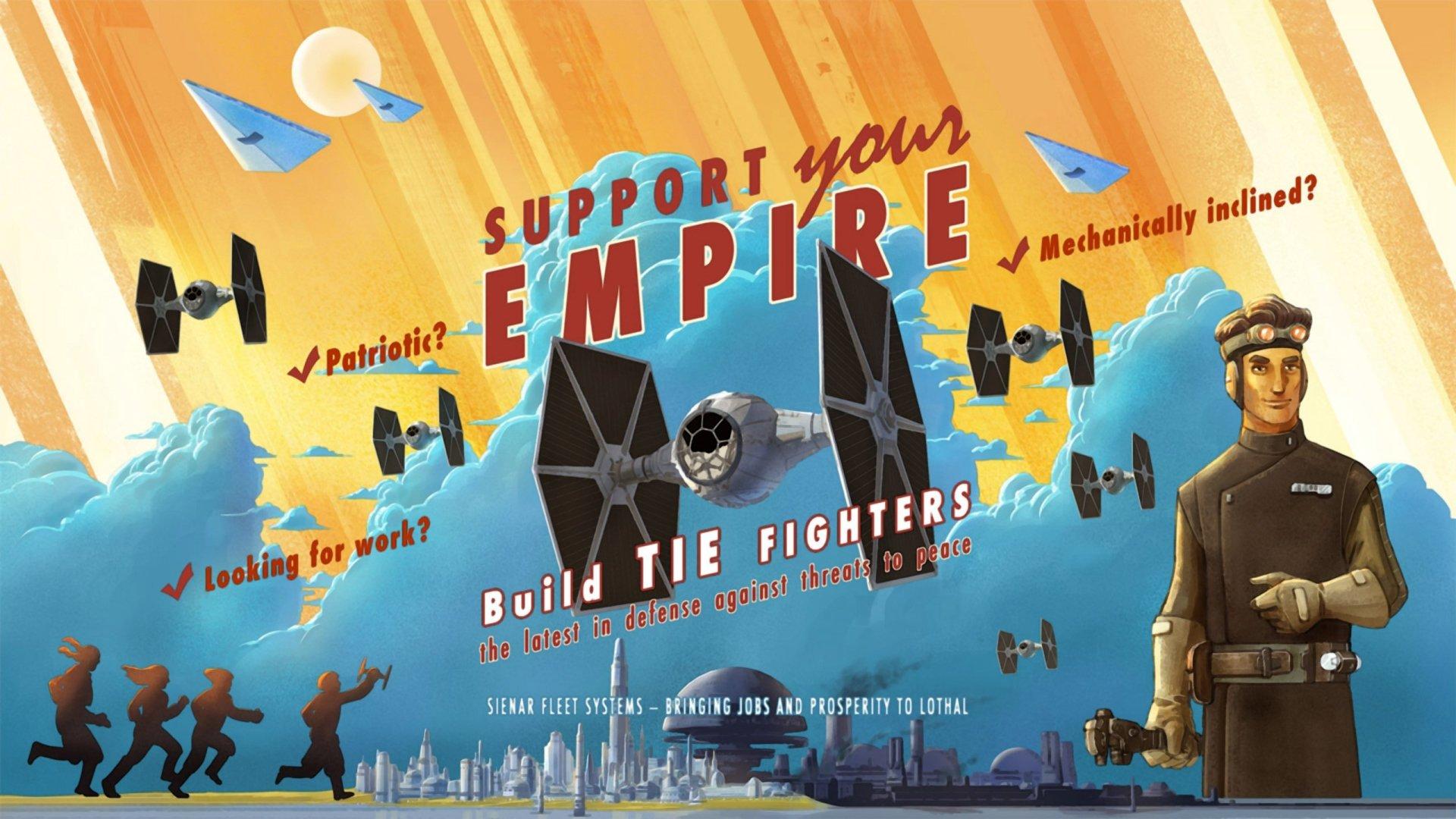 TV Show - Star Wars Rebels  TIE Fighter Wallpaper