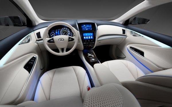 Vehicles Infiniti Le  Infiniti Car Interior Dashboard HD Wallpaper   Background Image