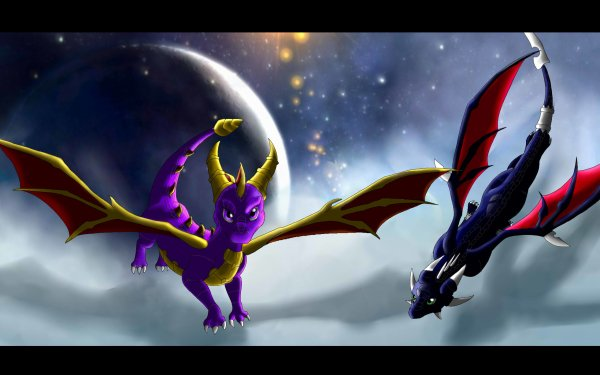 Video Game The Legend of Spyro: Dawn of the Dragon Spyro Cynder Dragon Wings HD Wallpaper | Background Image