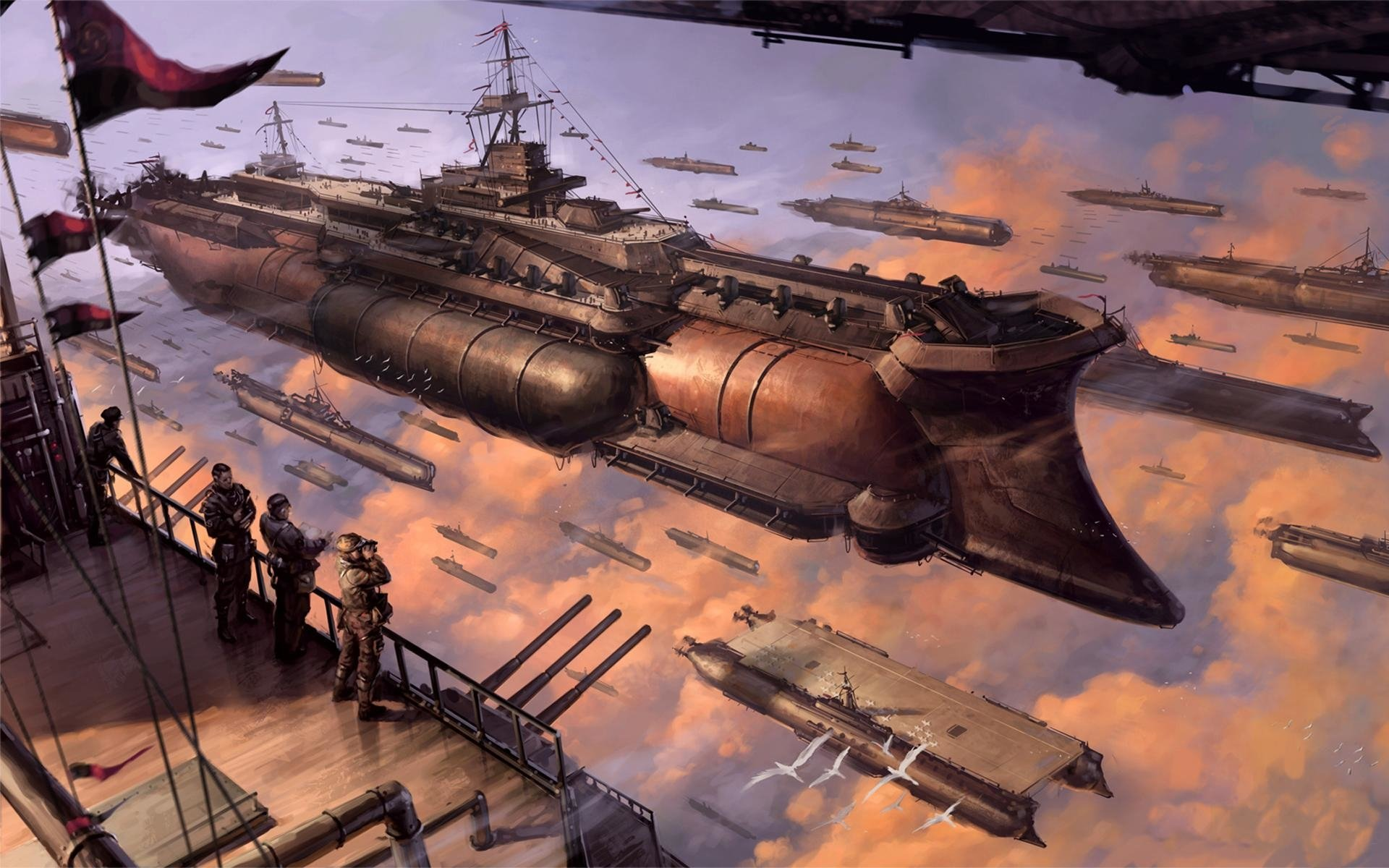 40 Last Exile Hd Wallpapers Background Images Wallpaper Abyss