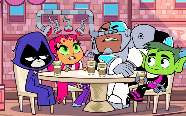 TV Show Teen Titans Go! Teen Titans Raven Starfire Cyborg Beast Boy HD Wallpaper | Background Image