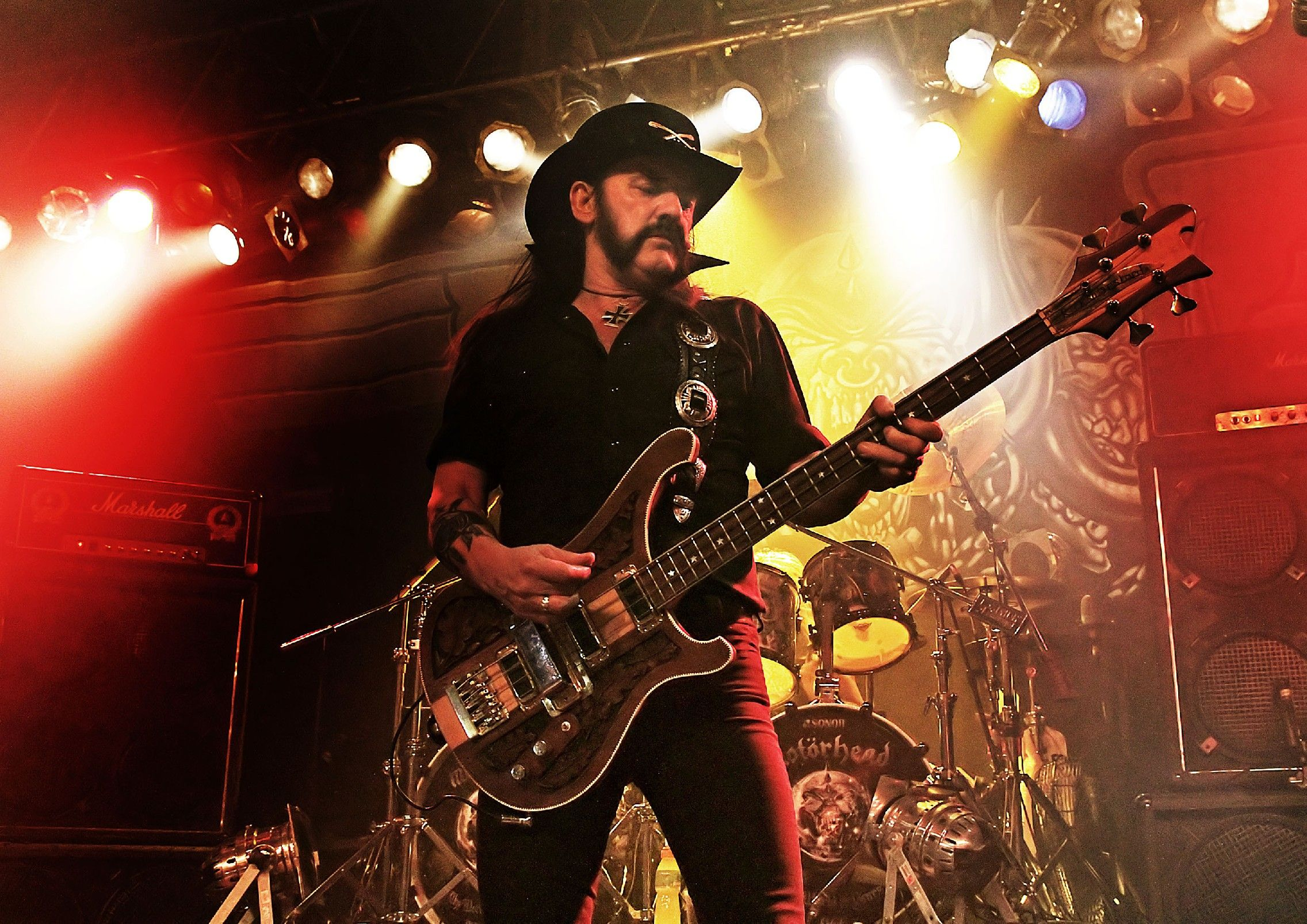 Lemmy Kilmister Rock Music Motorhead Wallpaper Hd: Motörhead HD Wallpaper