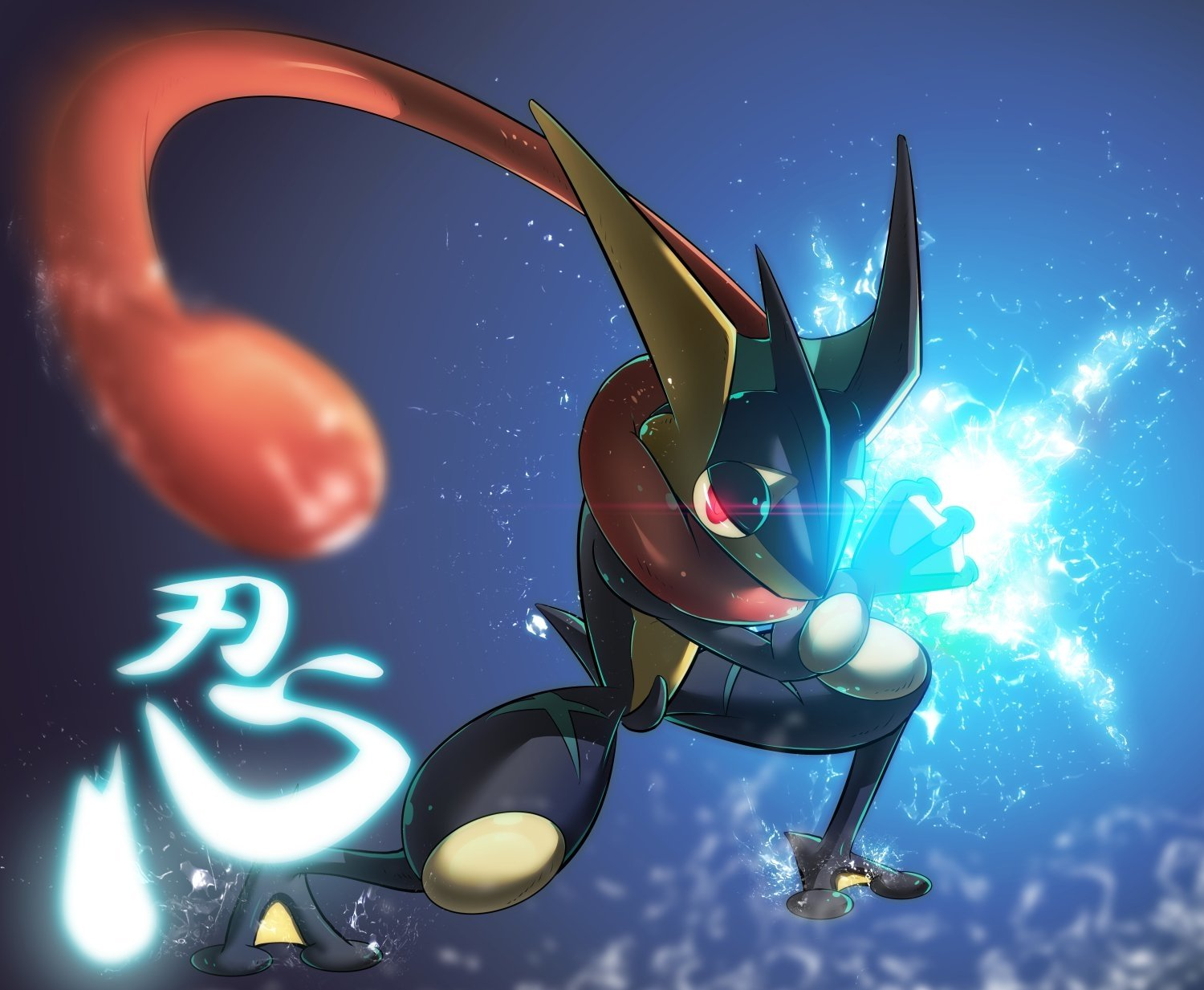 10 Greninja Pokemon HD Wallpapers