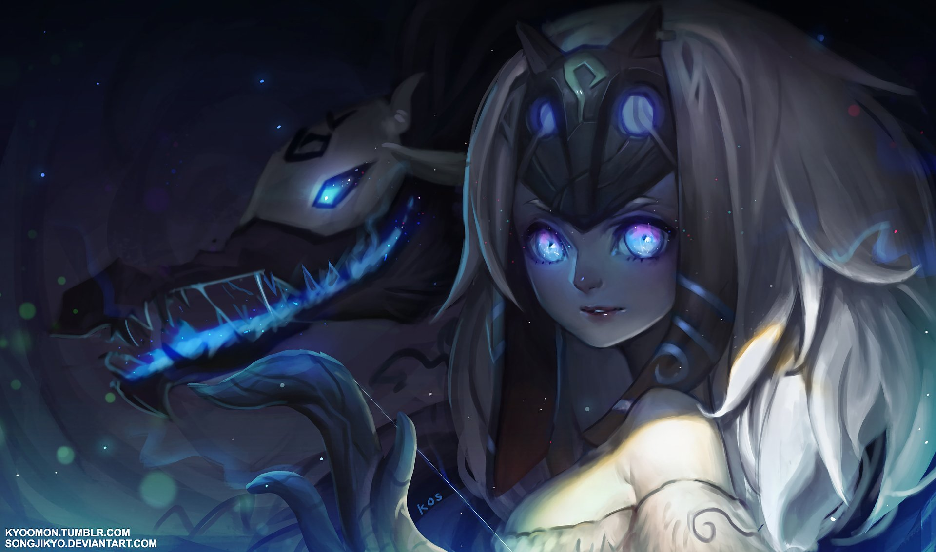 28 Kindred League Of Legends Hd Wallpapers Background Images