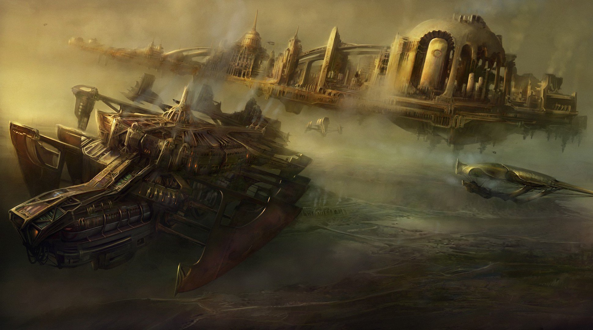 steampunk full hd wallpaper and background 1940x1080
