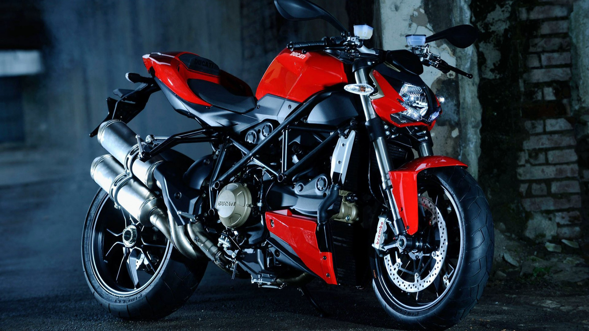 Ducati Streetfighter Full HD Wallpaper And Background Image