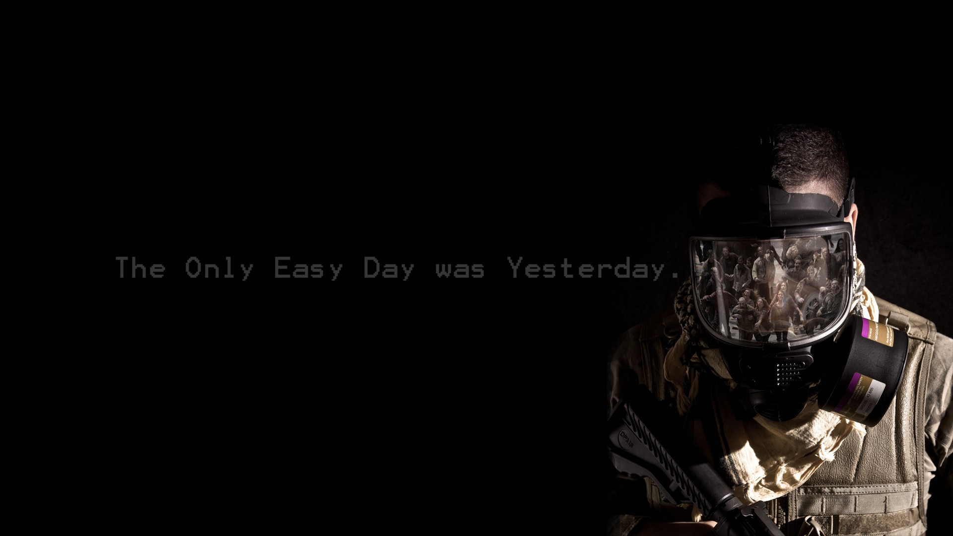The Only Easy Day Was Yesterday Full HD Wallpaper and ...