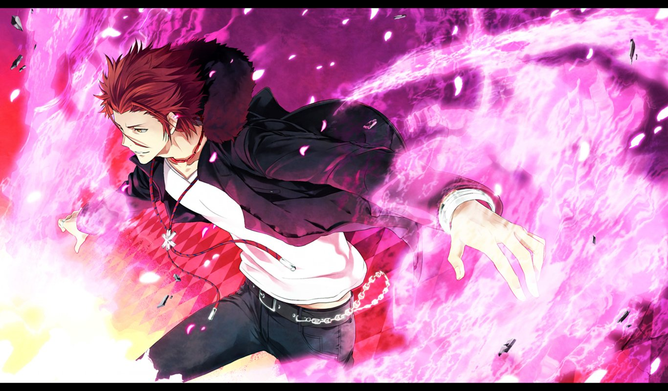 Mikoto Suoh Wallpaper and Back...