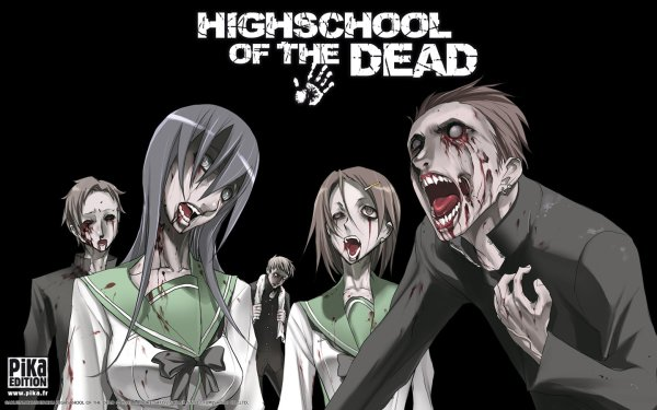 Anime Highschool Of The Dead HD Wallpaper | Background Image
