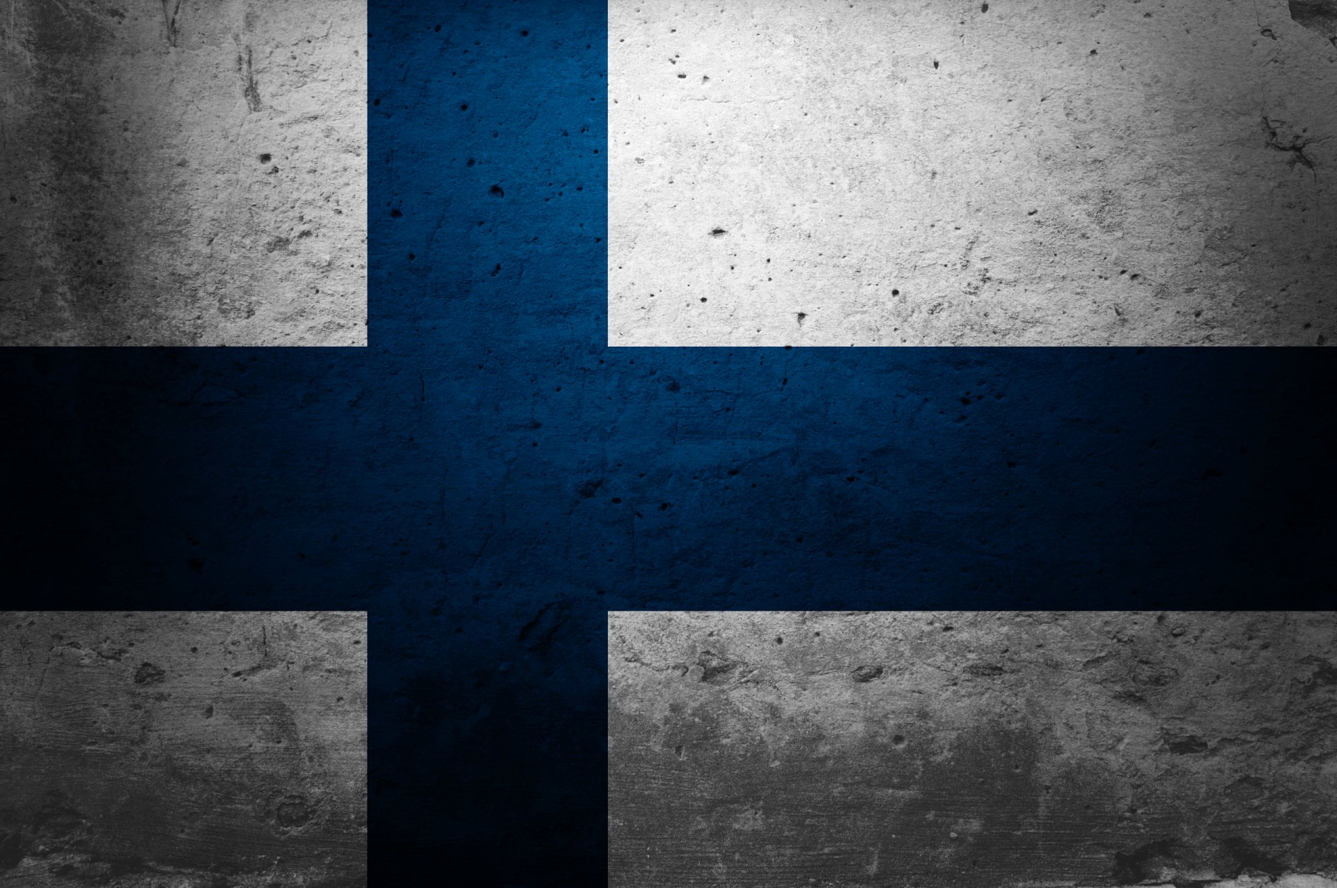 Diversen - Flag Of Finland  Finland Suomi Wallpaper