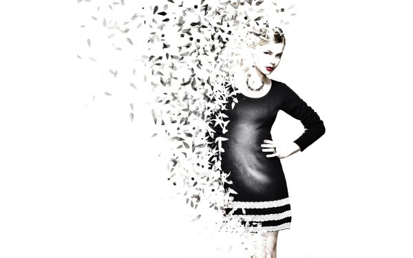Women Artistic Woman White HD Wallpaper | Background Image