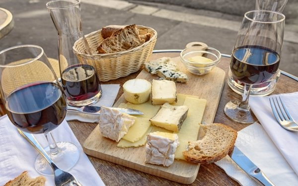 Photography Still Life Cheese Wine Table Food Glass HD Wallpaper | Background Image