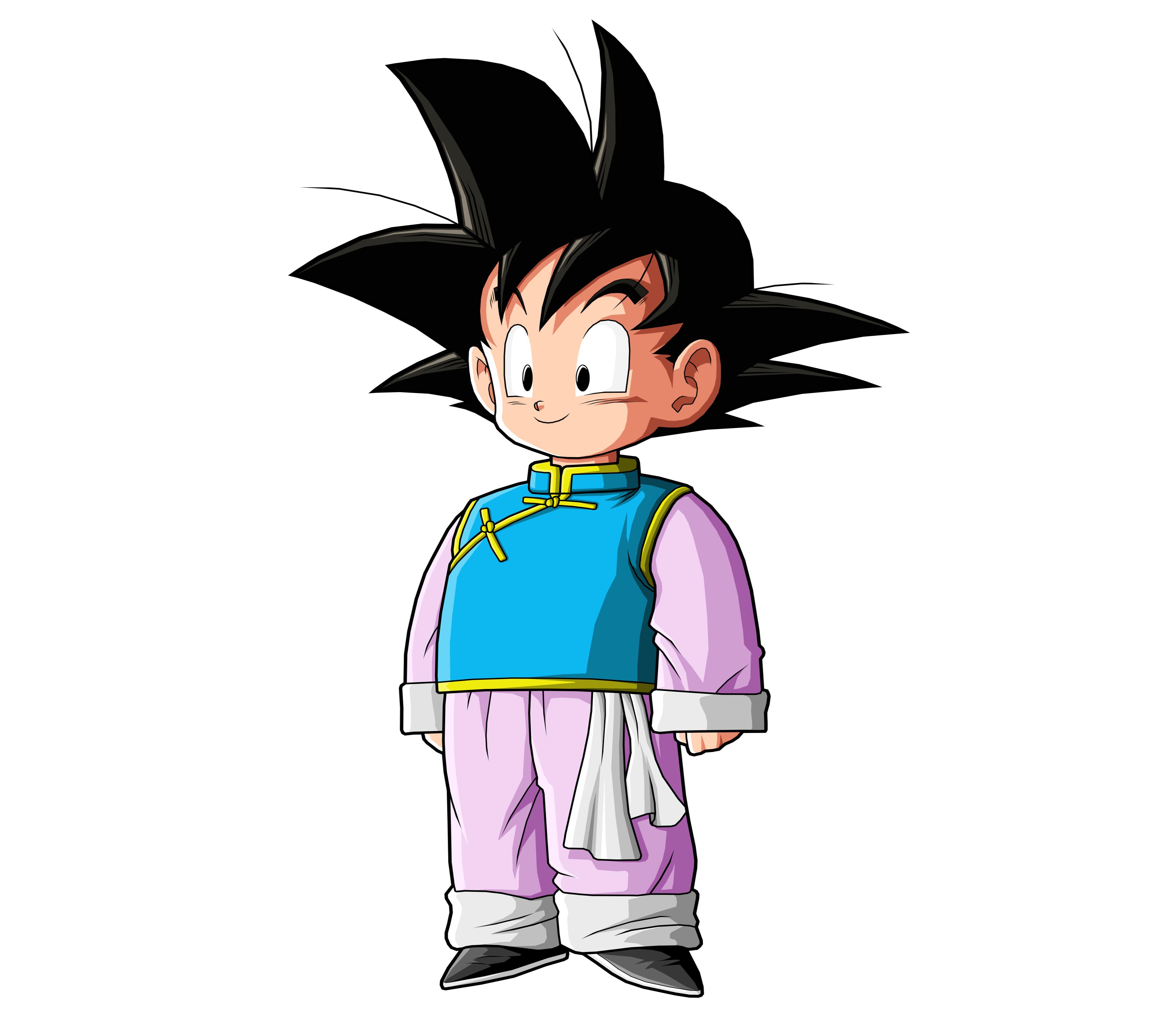 Anime Dragon Ball Z Goten Fond D 233 Cran
