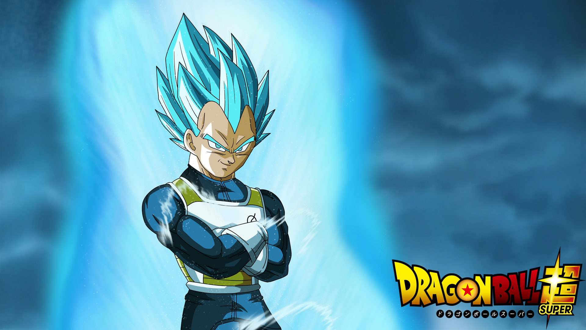 vegeta (ssj god ssj) full hd wallpaper and background image