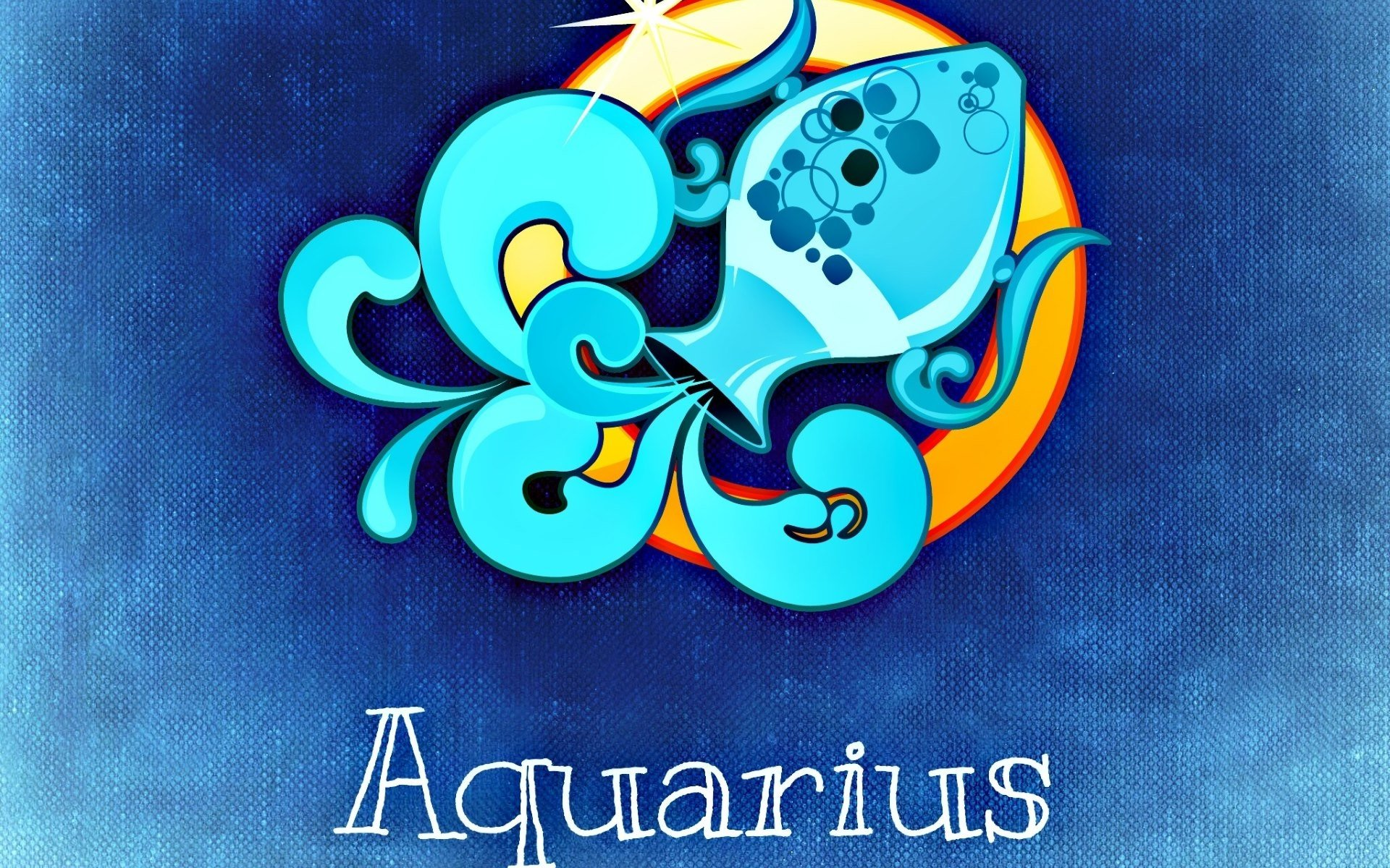 horoscope aquarius full hd wallpaper and background