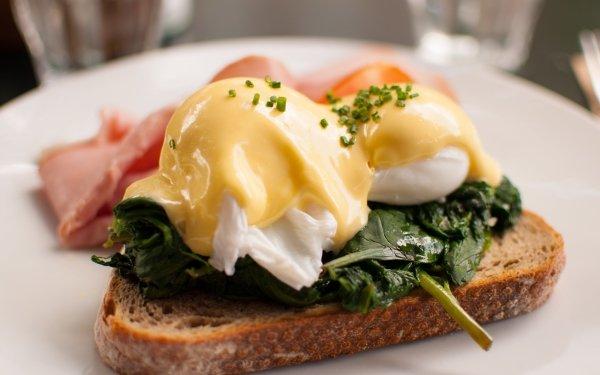 Alimento Desayuno Huevo Toast Comida Fondo de pantalla HD | Fondo de Escritorio