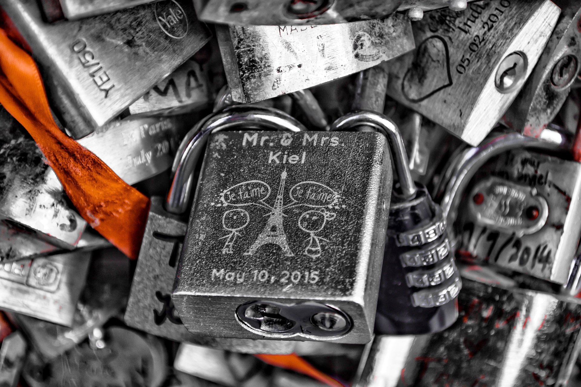 Paris Love Locks 5k Retina Ultra HD Wallpaper And