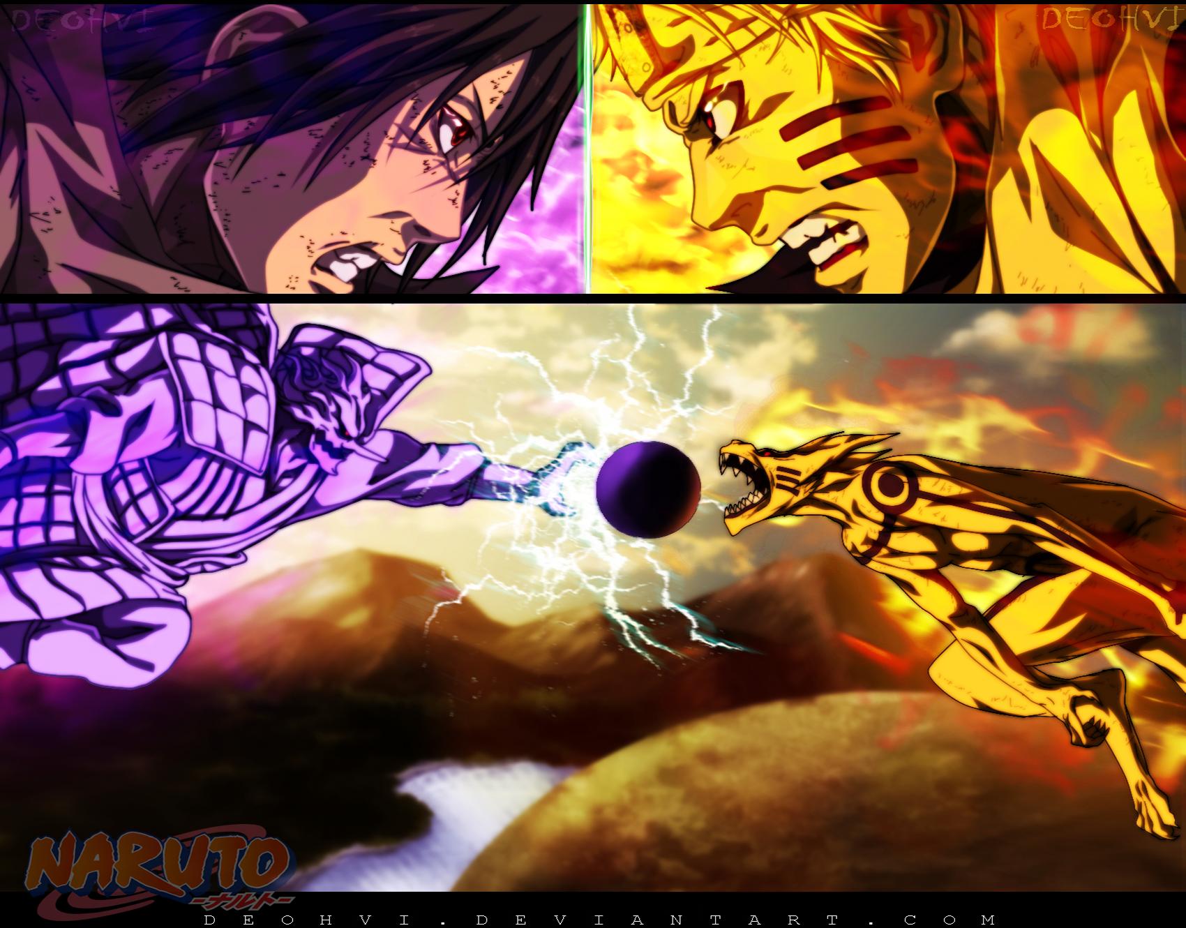 Naruto Vs Sasuke Papel de Parede and Planos de Fundo