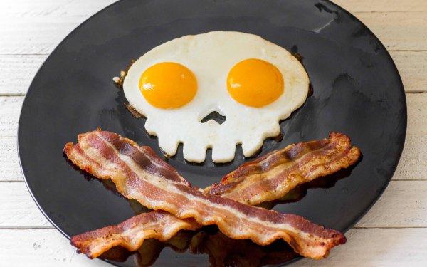 Food Breakfast Egg Bacon HD Wallpaper   Background Image