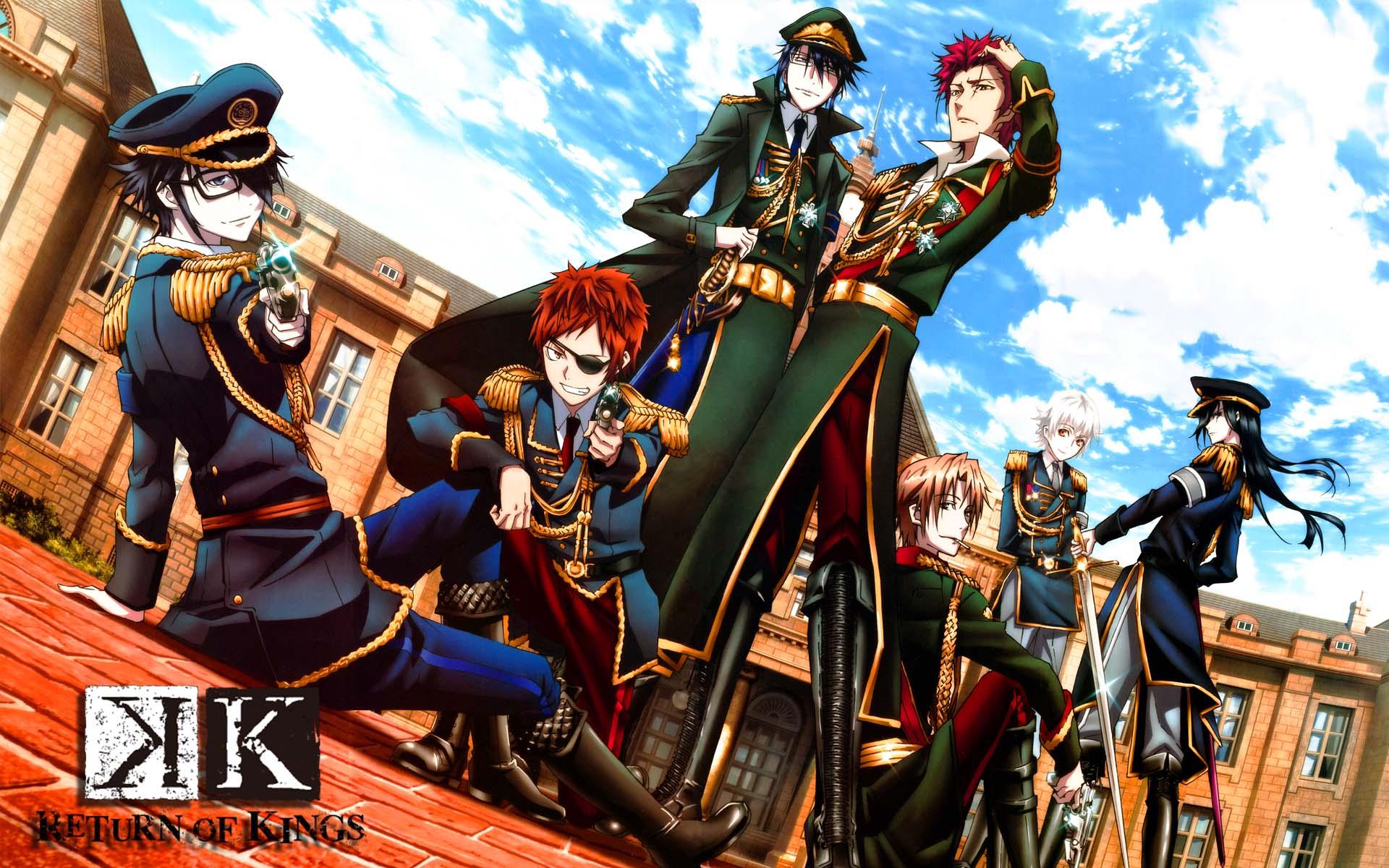 Download Video Anime K Return Of Kings Sub Indo Episode 01 Sampai 13