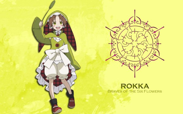Anime Rokka: Braves of the Six Flowers Chamo Rosso HD Wallpaper | Background Image