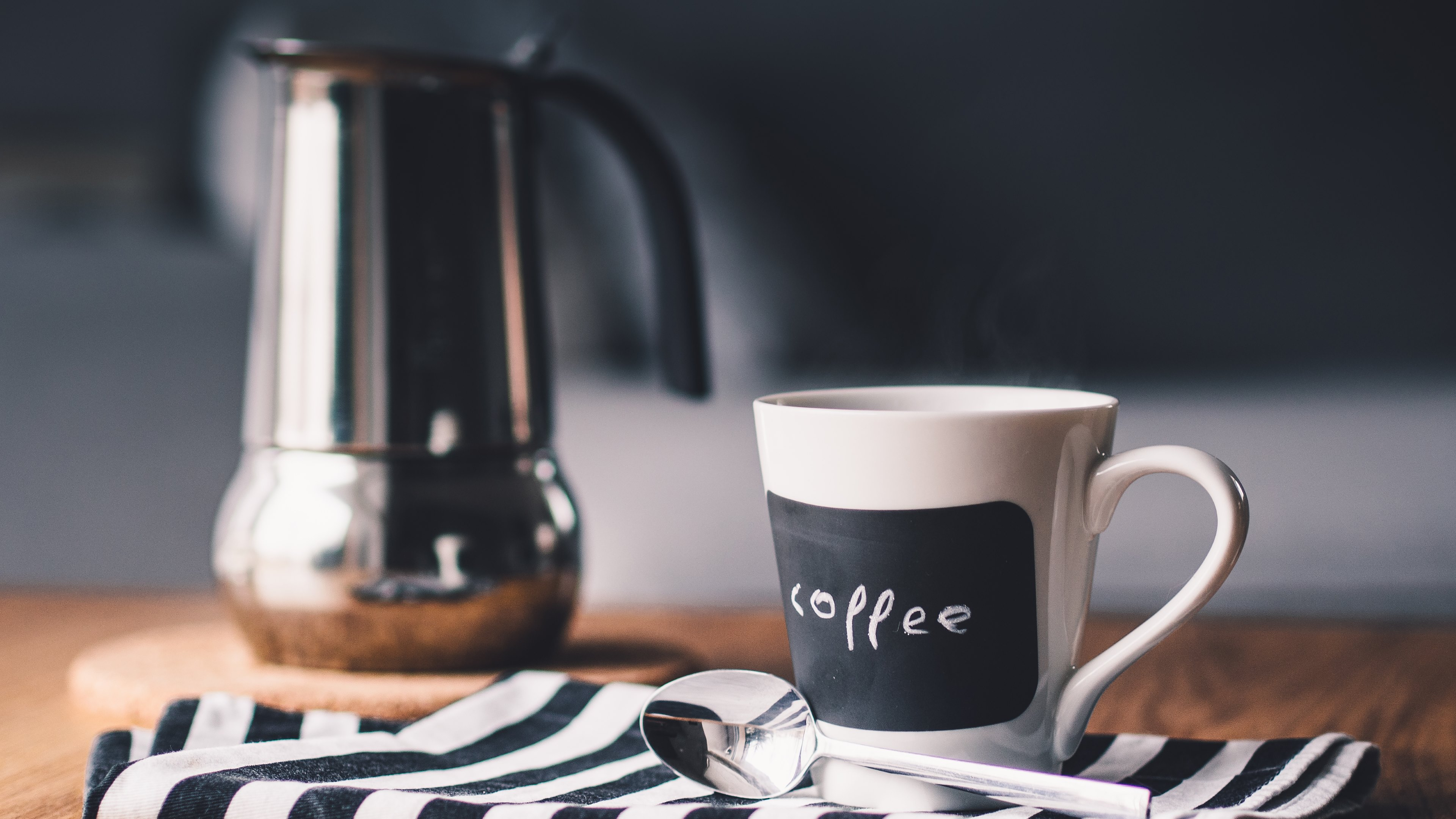 A Morning Cuppa Coffee 4k Ultra HD Wallpaper | Background Image ...