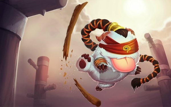 Video Game League Of Legends Lee Sin Poro HD Wallpaper | Background Image