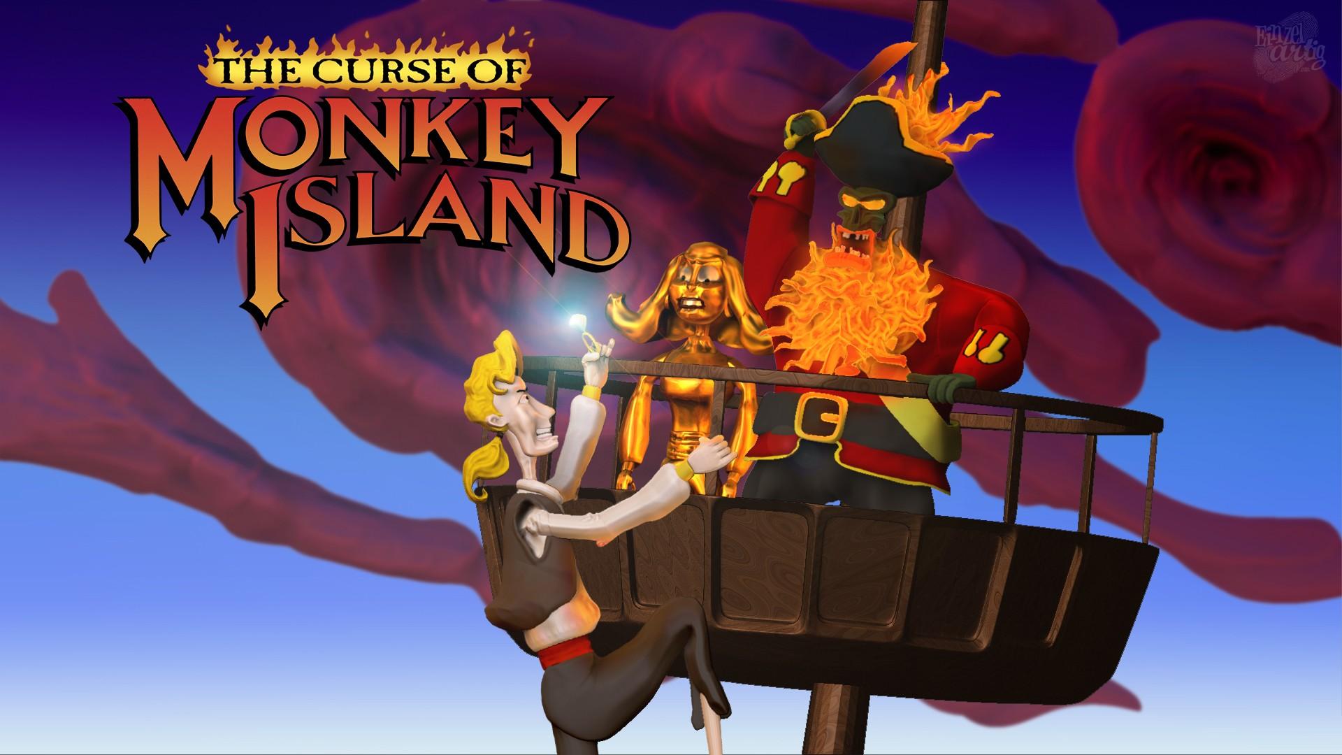 The curse of monkey island - 5 2