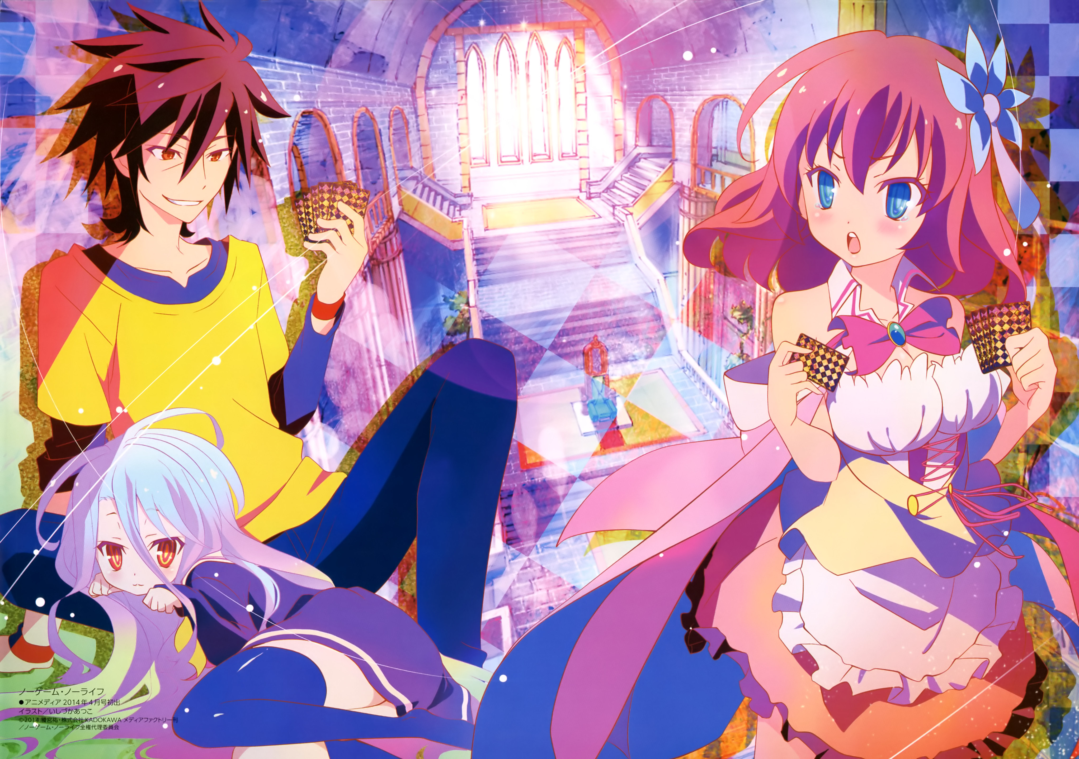 Anime Wallpapers No Game No Life HD 4K Download For Mobile iPhone & PC