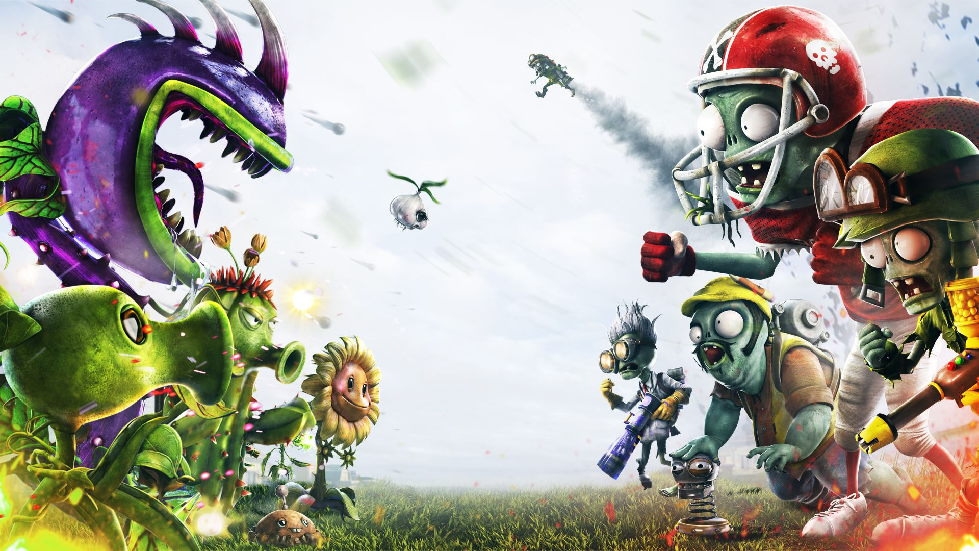 plants vs. zombies garden warfare wallpaper full hd wallpaper and