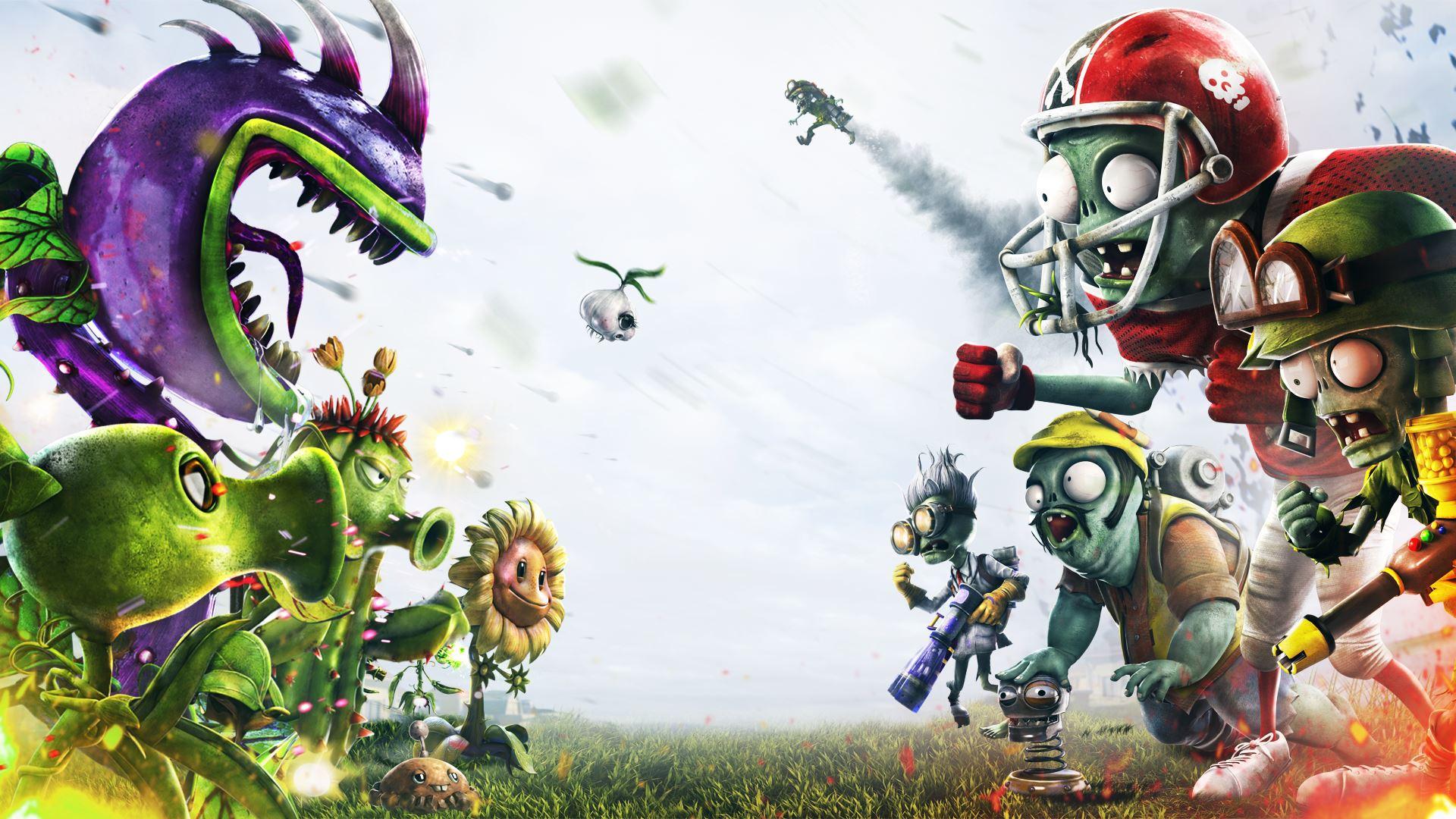 Plants Vs Zombies Garden Warfare Wallpaper Fonds D 233 Cran