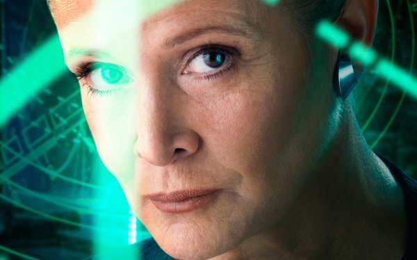 Movie Star Wars Episode VII: The Force Awakens Star Wars Princess Leia Carrie Fisher HD Wallpaper   Background Image